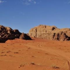 Medio del desierto